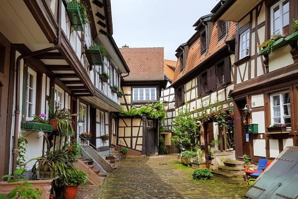 Altstadt Engelsgasse Gengenbach